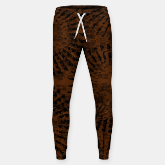 Thumbnail image of Lush Circle  Brown  Cotton sweatpants, Live Heroes
