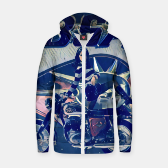 Thumbnail image of BSA Motorcycles  Cotton zip up hoodie, Live Heroes