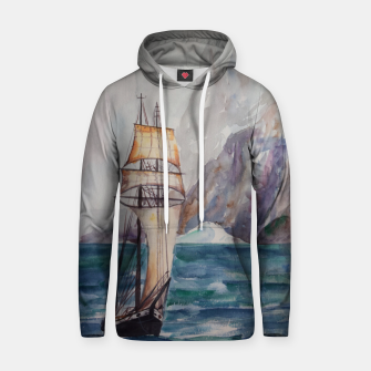 Thumbnail image of Ship Cotton hoodie, Live Heroes