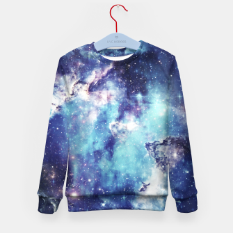Miniaturka Galaxy blue black Kid's sweater, Live Heroes