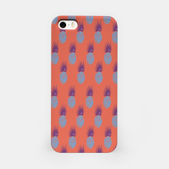 Thumbnail image of iPhone case, ananases on orange, Live Heroes