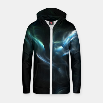 Thumbnail image of Mech Structure Cotton zip up hoodie, Live Heroes