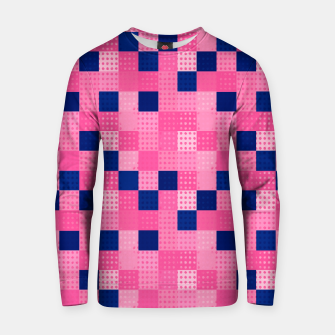 Thumbnail image of Cheerful Dotted chess - dense Cotton sweater, Live Heroes