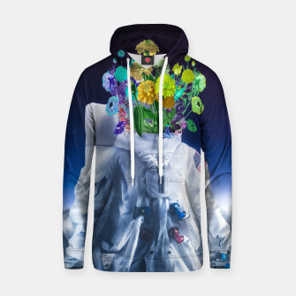 Space's flower Cotton hoodie Bild der Miniatur