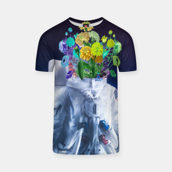 Space's flower T-shirt Bild der Miniatur