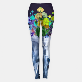Miniature de image de Space's flower Leggings, Live Heroes