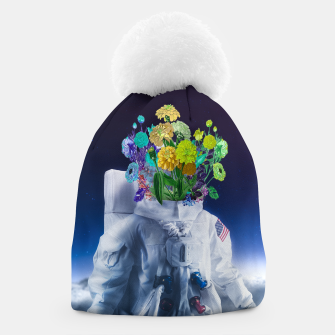 Thumbnail image of Space's flower Beanie, Live Heroes