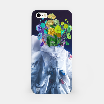 Space's flower iPhone Case Bild der Miniatur