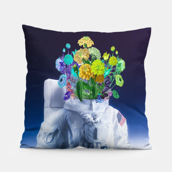 Miniaturka Space's flower Pillow, Live Heroes