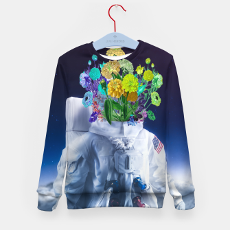 Space's flower Kid's sweater Bild der Miniatur