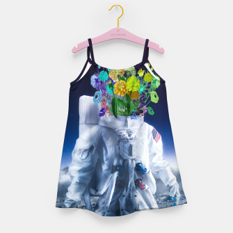 Space's flower Girl's dress Bild der Miniatur
