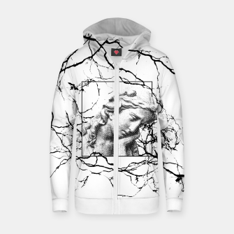 Thumbnail image of S@D  Cotton zip up hoodie, Live Heroes