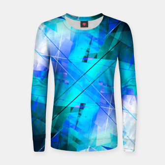 Thumbnail image of Vaporwave Woman cotton sweater, Live Heroes