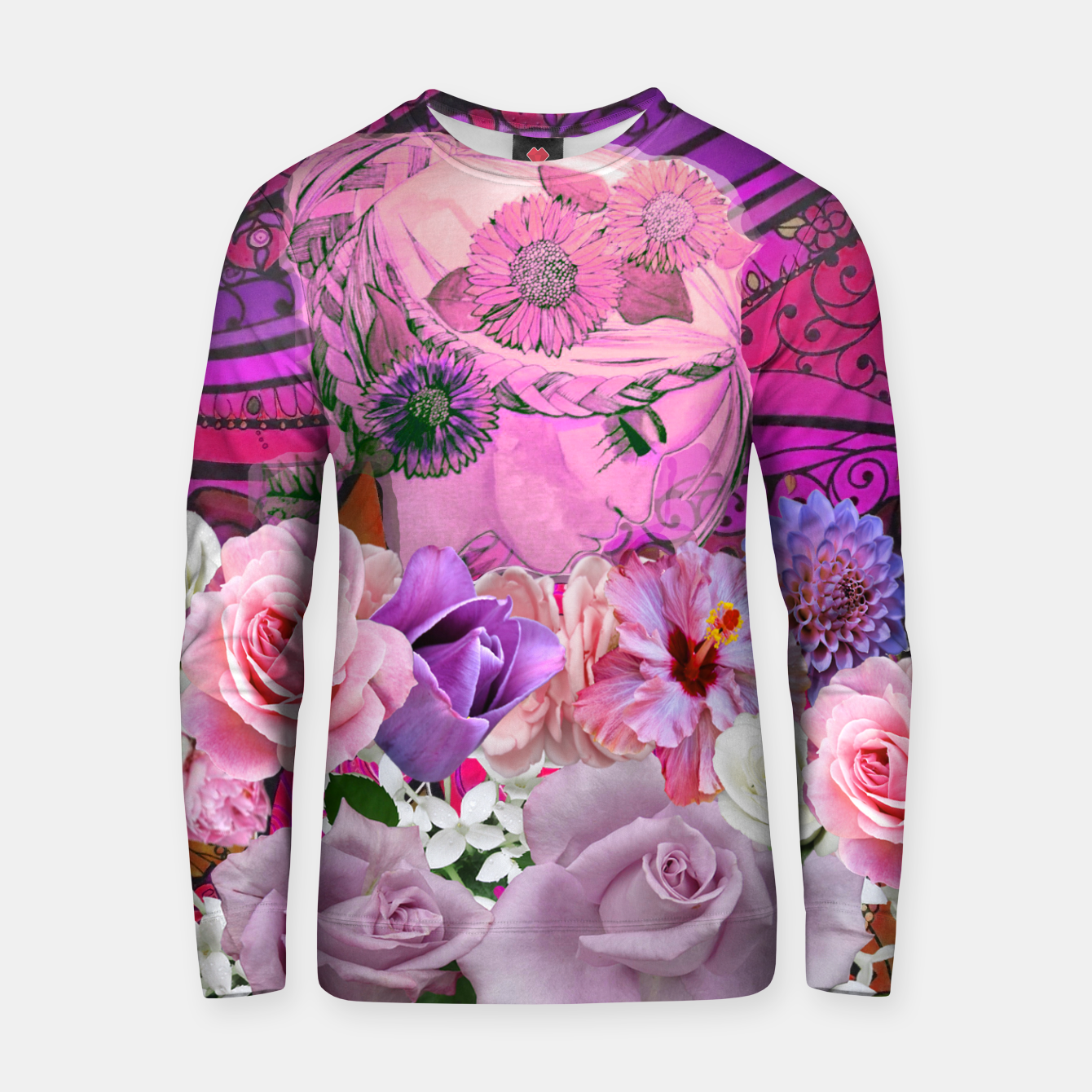 Image of 'Summer's Coming' Pink Sweater - Live Heroes