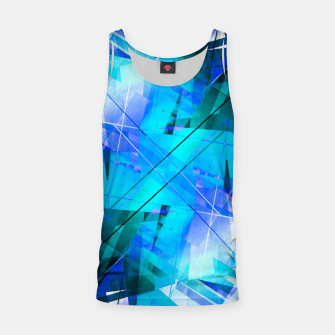 Thumbnail image of Vaporwave - Geometric Abstract Art Tank Top, Live Heroes