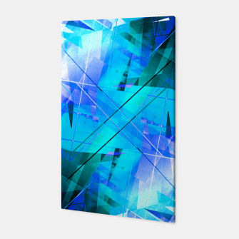 Thumbnail image of Vaporwave - Geometric Abstract Art Canvas, Live Heroes