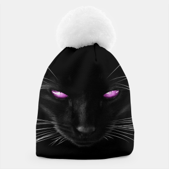Purple Cat Eyes Mütze thumbnail image