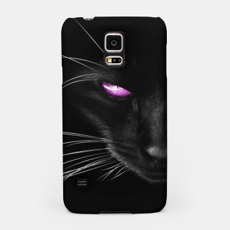 Purple Cat Eyes Handyhülle für Samsung thumbnail image
