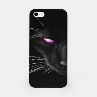 Purple Cat Eyes iPhone-Hülle thumbnail image