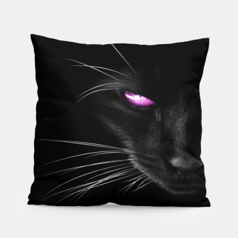 Purple Cat Eyes Kissen thumbnail image