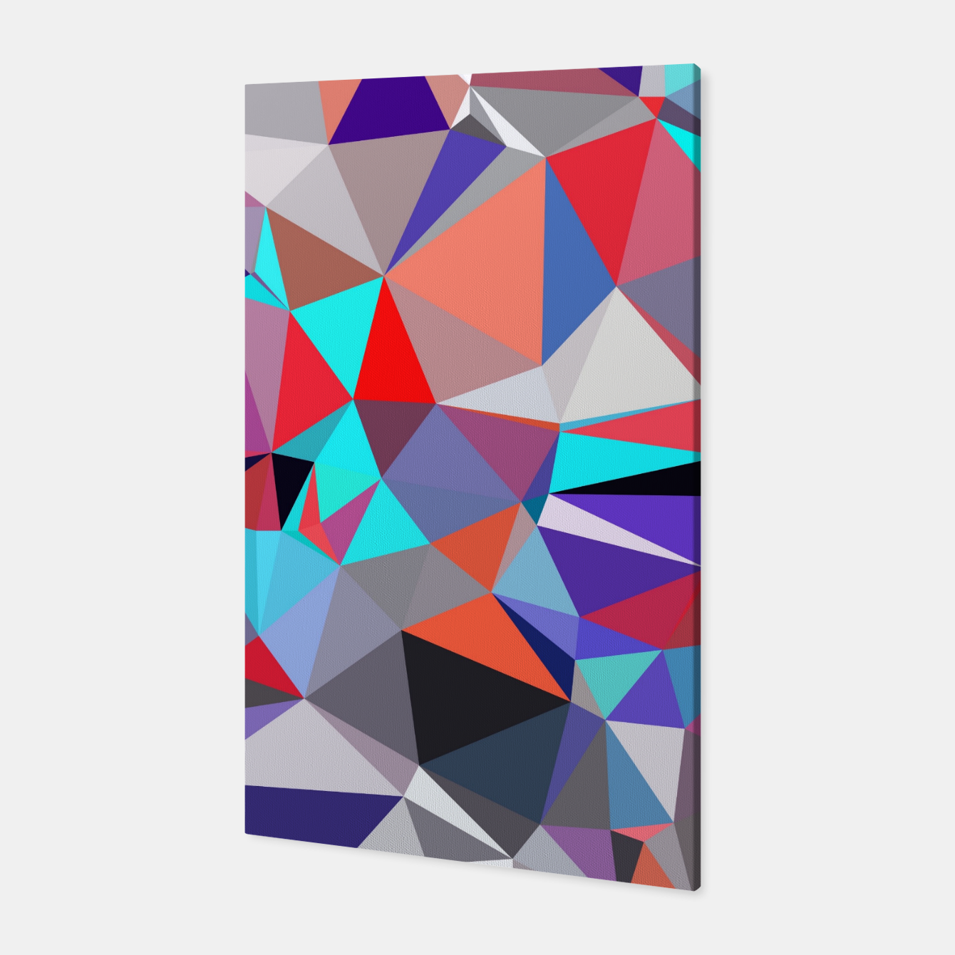 geometric triangle polygon pattern abstract background in