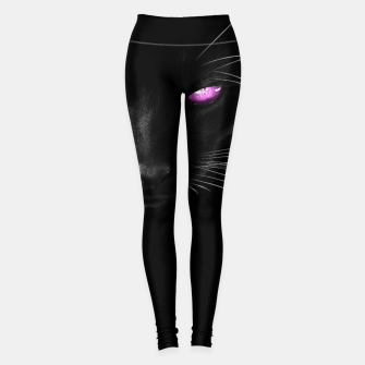 Purple Cat Eyes Leggings thumbnail image