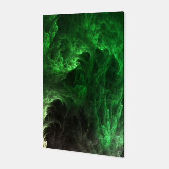 Thumbnail image of Cave Drip Green Canvas, Live Heroes