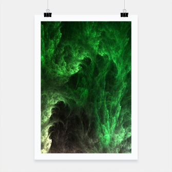 Thumbnail image of Cave Drip Green Poster, Live Heroes
