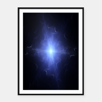 Thumbnail image of Nebula Tunnel Framed poster, Live Heroes