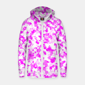 kammopink Cotton zip up hoodie thumbnail image