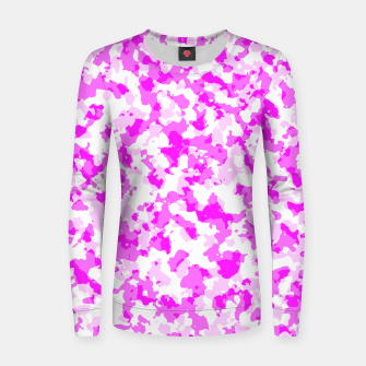 Miniatur kammopink Woman cotton sweater, Live Heroes