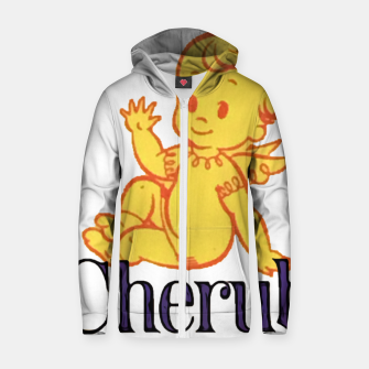 Thumbnail image of Cherub Cotton zip up hoodie, Live Heroes