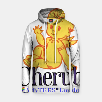 Thumbnail image of Cherub Cotton hoodie, Live Heroes