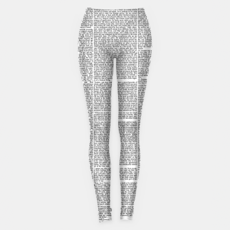 Frankenstein - The Modern Prometheus Leggings thumbnail image