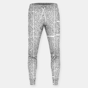 Thumbnail image of Frankenstein - The Modern Prometheus Cotton sweatpants, Live Heroes
