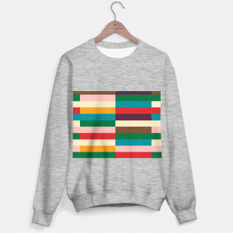 Thumbnail image of kilim mid century modern square Sweater regular, Live Heroes