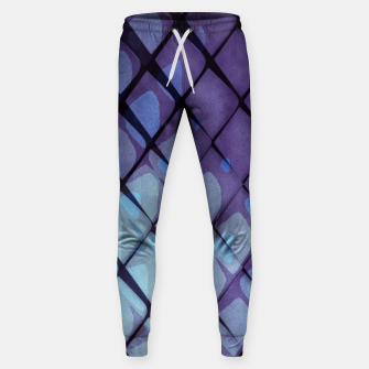 Miniaturka Abstract Geometric Background XLIII Cotton sweatpants, Live Heroes