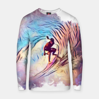 Thumbnail image of Surfing The Tube Cotton sweater, Live Heroes