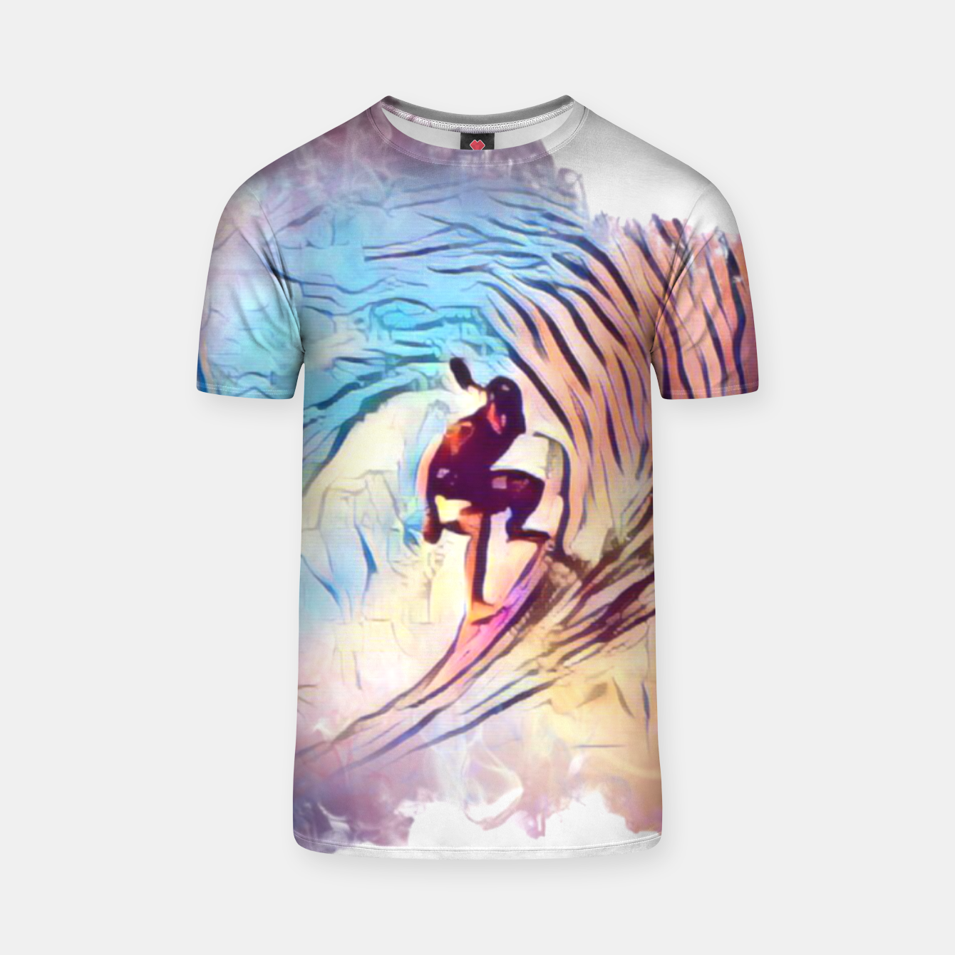 Image of Surfing The Tube 2 T-shirt - Live Heroes