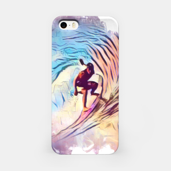 Surfing The Tube 2 iPhone Case thumbnail image
