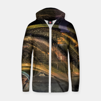 Traces Cotton zip up hoodie thumbnail image