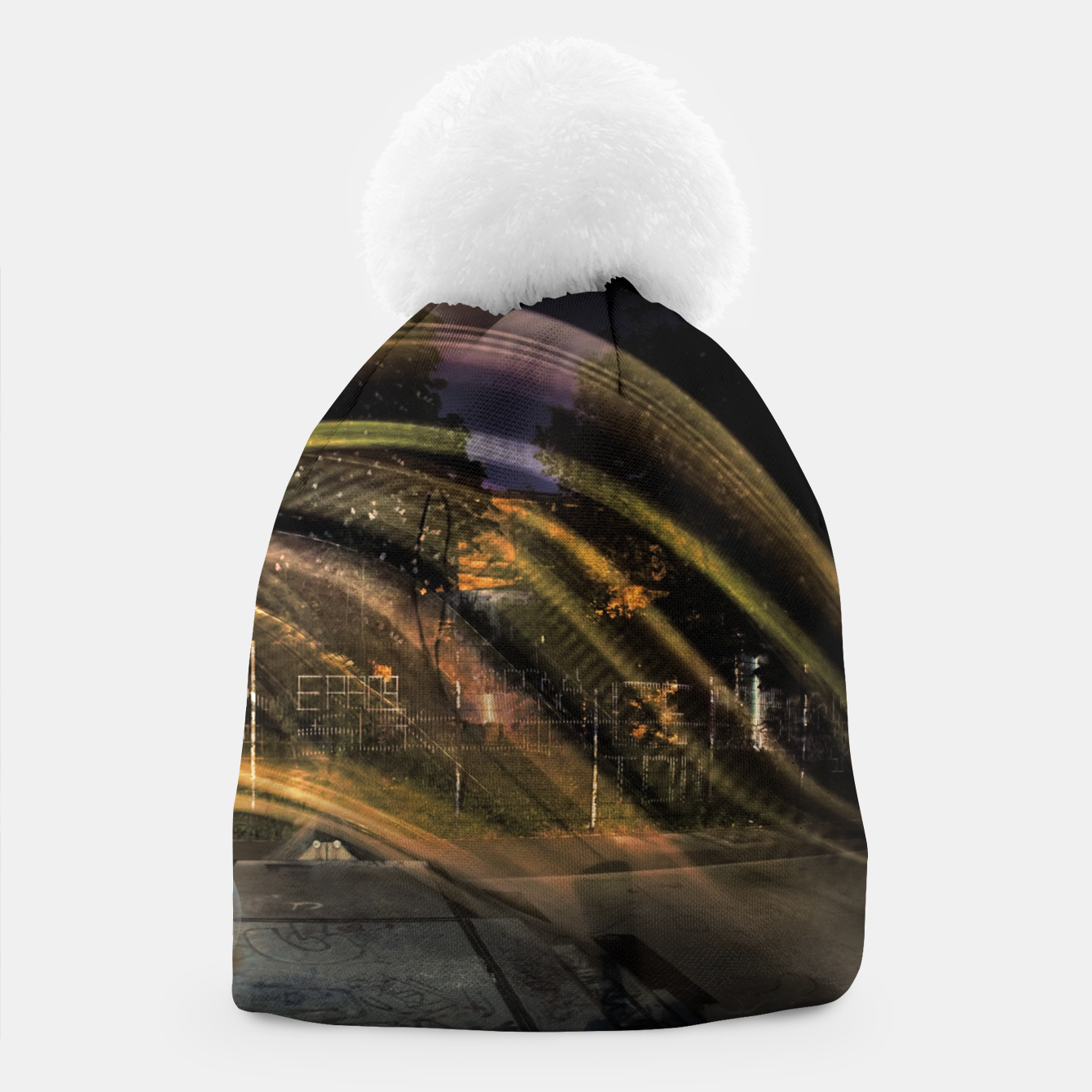 Image of Traces Beanie - Live Heroes