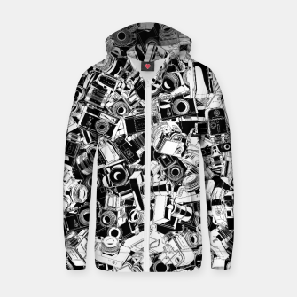 Shutterbug Cotton zip up hoodie thumbnail image