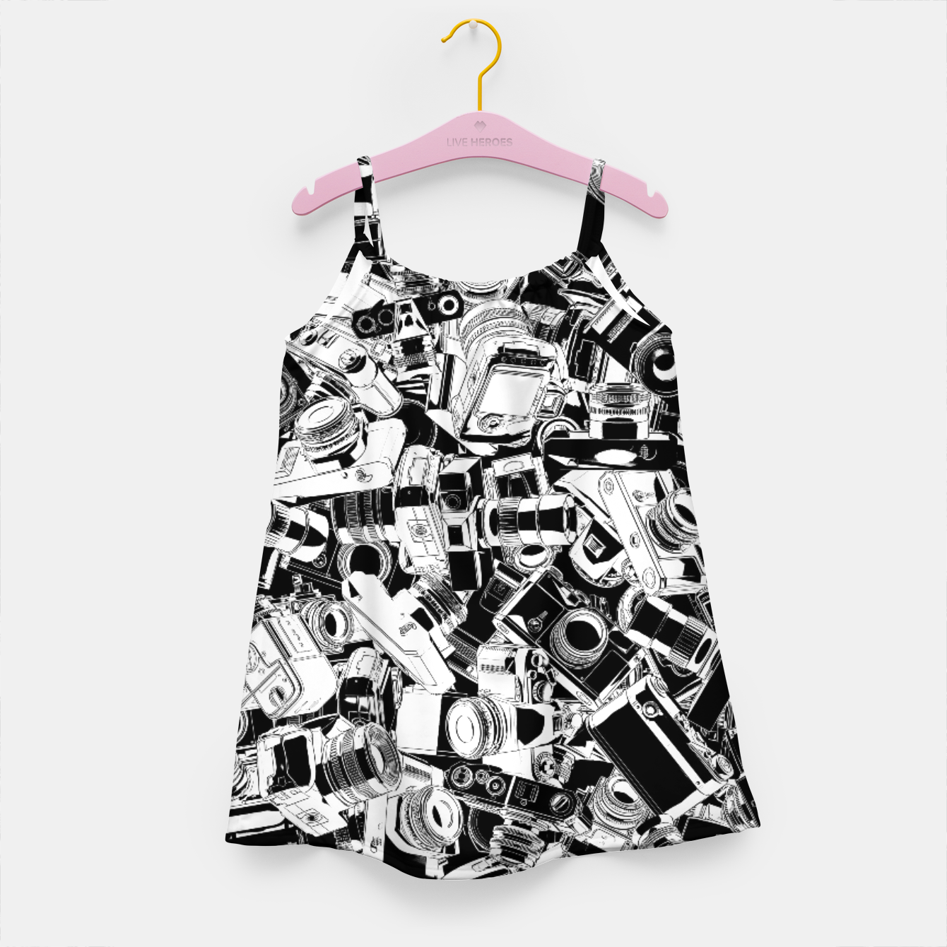 Image of Shutterbug Girl's dress - Live Heroes