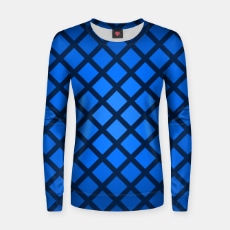 Thumbnail image of Blue Blend Woman cotton sweater, Live Heroes