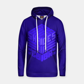 Thumbnail image of Shades ISO Blue Cotton hoodie, Live Heroes