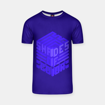 Thumbnail image of Shades ISO Blue T-shirt, Live Heroes