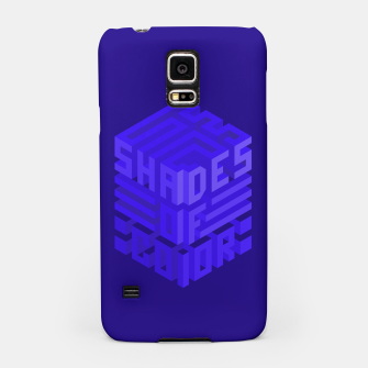 Thumbnail image of Shades ISO Blue Samsung Case, Live Heroes