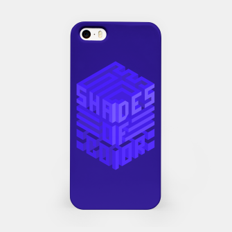 Thumbnail image of Shades ISO Blue iPhone Case, Live Heroes