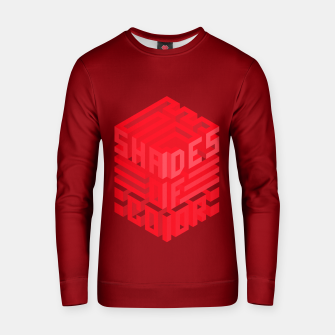 Thumbnail image of Shades ISO Red Cotton sweater, Live Heroes